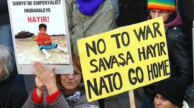 Diputado turco acusa a la OTAN de ser terrorista como Daesh