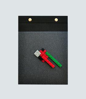 Notebook Lego hecho a mano