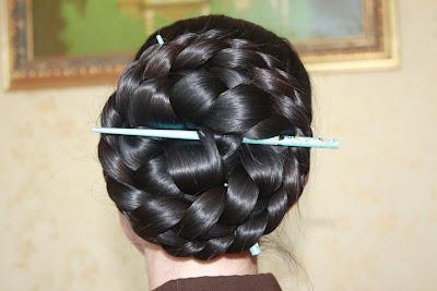 super long braid braided bun photos longest hair