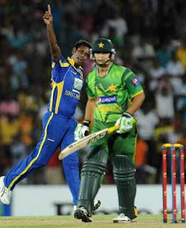 Sri Lanka vs Pakistan 1st T20I 2012 Highlights