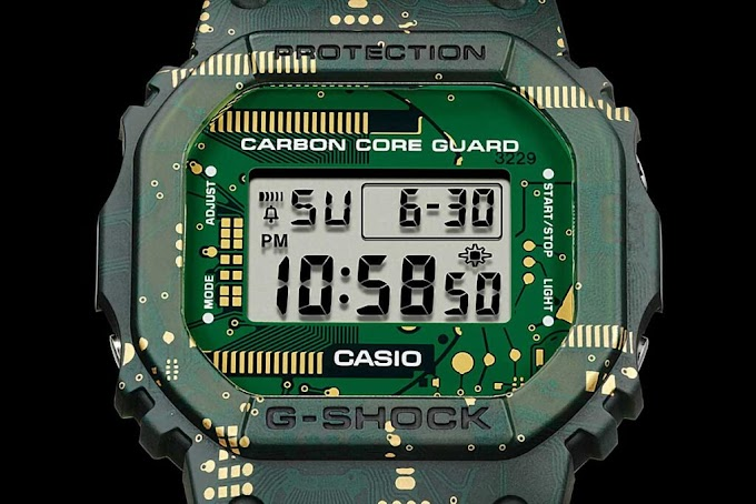 Casio เปิดตัว G-SHOCK Interchangeable DWE-5600CC