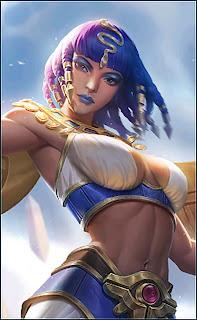 Rafaela Fertility Goddess Heroes Support of Skins Rework V1