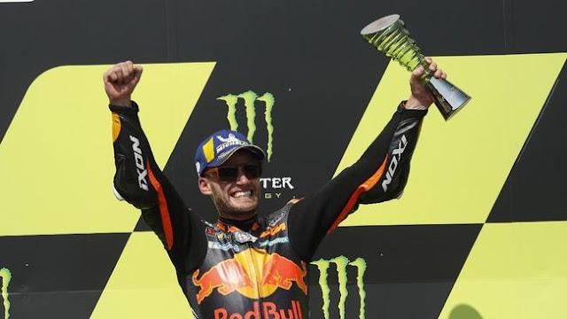 Brad Binder Sukses Meraih Posisi Pertama di MotoGP Ceko 2020