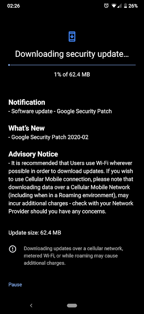 Nokia 7.2 receiving February 2020 Android Security Patch