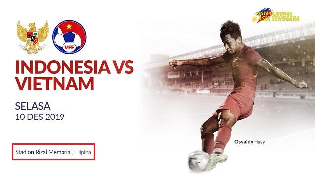 Jadwal Timnas Indonesia U22 Vs Vietnam