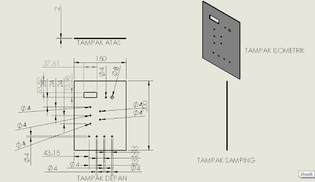 Gambar 3 18 Pintu Panel (sumber : perancangan)