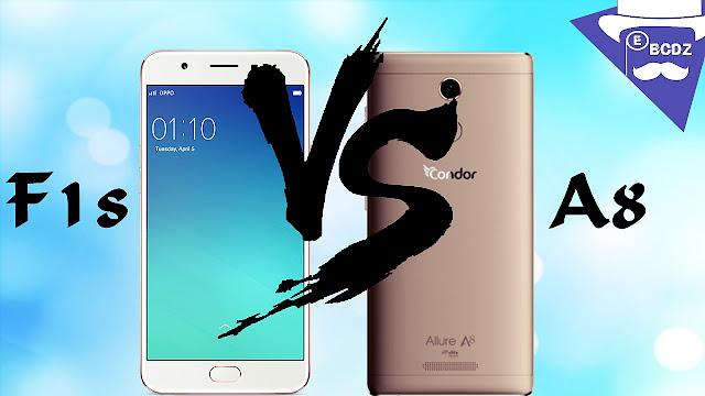 مقارنة بين هاتف oppo f1s و condor a8 - مدونة الأهراس