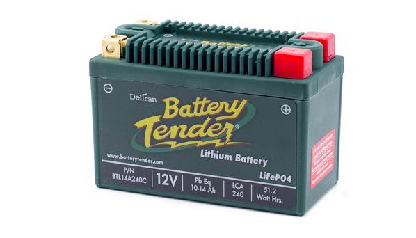 Battery Tender BTL14A240C Lithium Iron Phosphate Battery