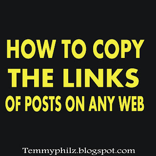 HOW TO COPY THE LINK OF ANY POST FROM ANY WEBSITE