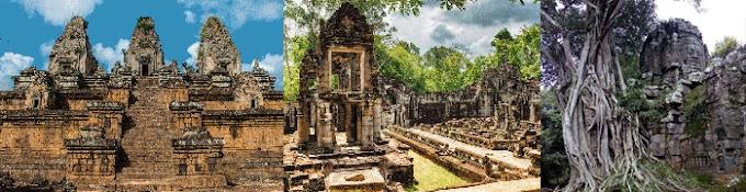Visite Angkor en 2 Jours - lever du soleil et Banteay Srei