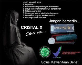Salah Satu Khasiat Crystal X Untuk Kista