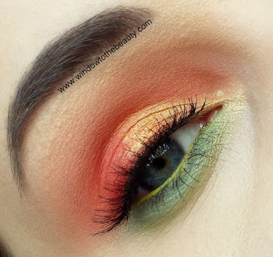 red green makeup