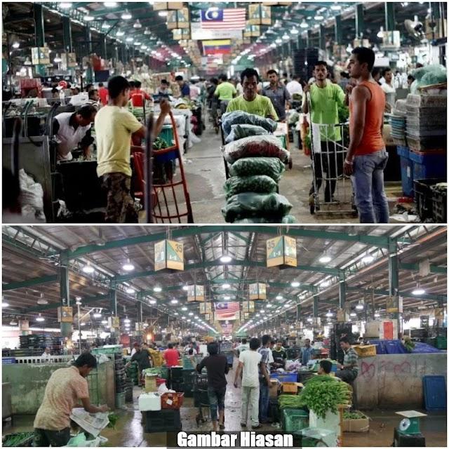 """No more pendatang asing!"" - Pasar Borong Selayang kini milik warga tempatan"