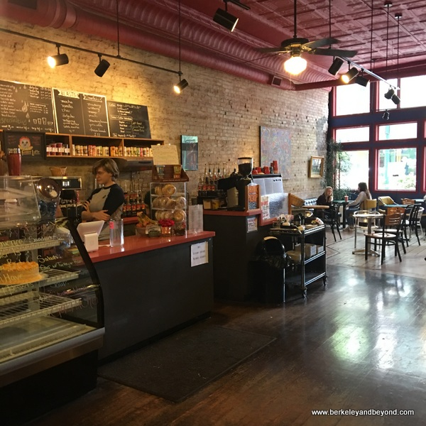 cafe at Taylor Books in Charleston, West Virginia