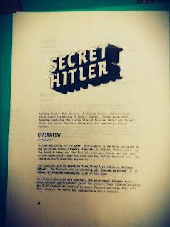 secret hitler board game diy