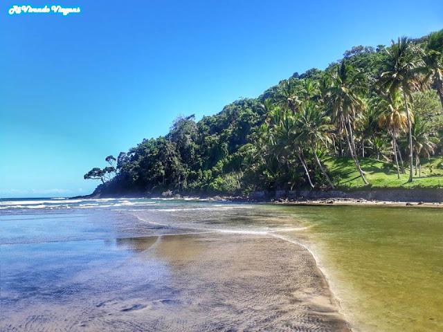 Praia de Jeribucaçu. Itacaré. Bahia.