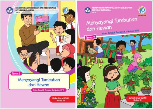 Buku Kelas 3 Kurikulum 2013 Revisi 2018
