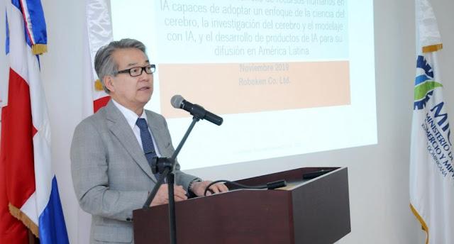El embajador de Japón en la República Dominicana, Hiroyuki Makiuchi.