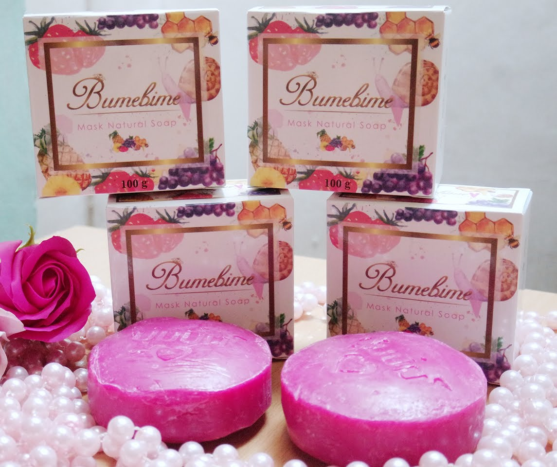 REVIEW(S): Bumebime Mask Natural Soap - pinkislovebynix