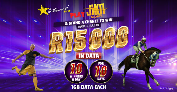 JIKA - Stand a chance to win your share of R15k in data