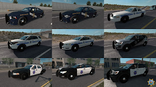 ai highway patrol pack for ats, american truck simulator mods, ats ai mods, ats ai traffic pack, ats mods, ats real street, ats realistic mods, recommendedmodsats, ats state highway patrol v1.42 screenshots2