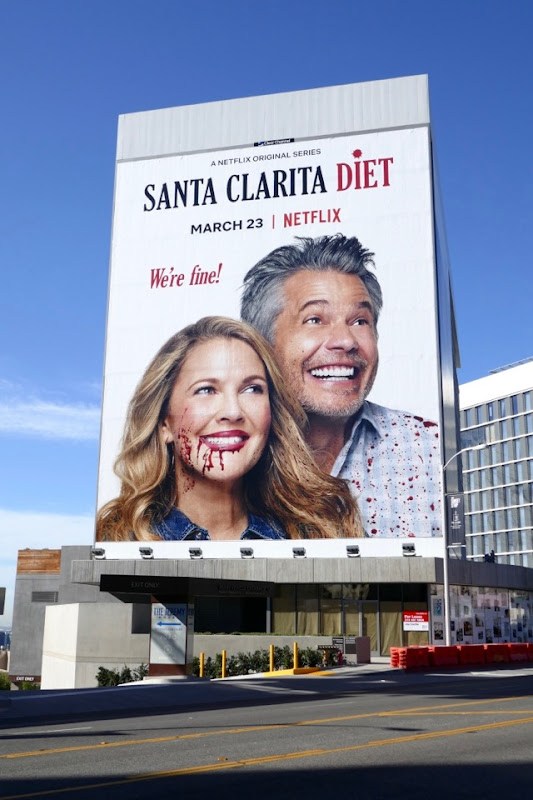 Santa Clarita Diet season 2 billboard