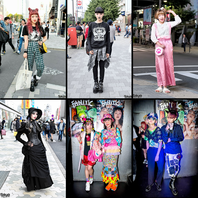 Modern Harajuku fashion
