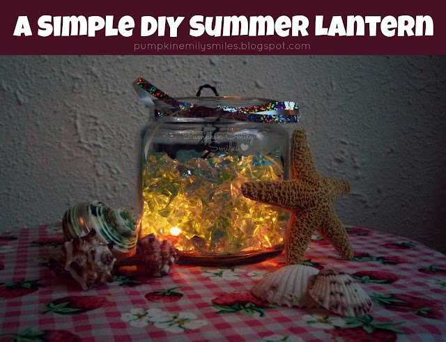 A Simple DIY Summer Lantern