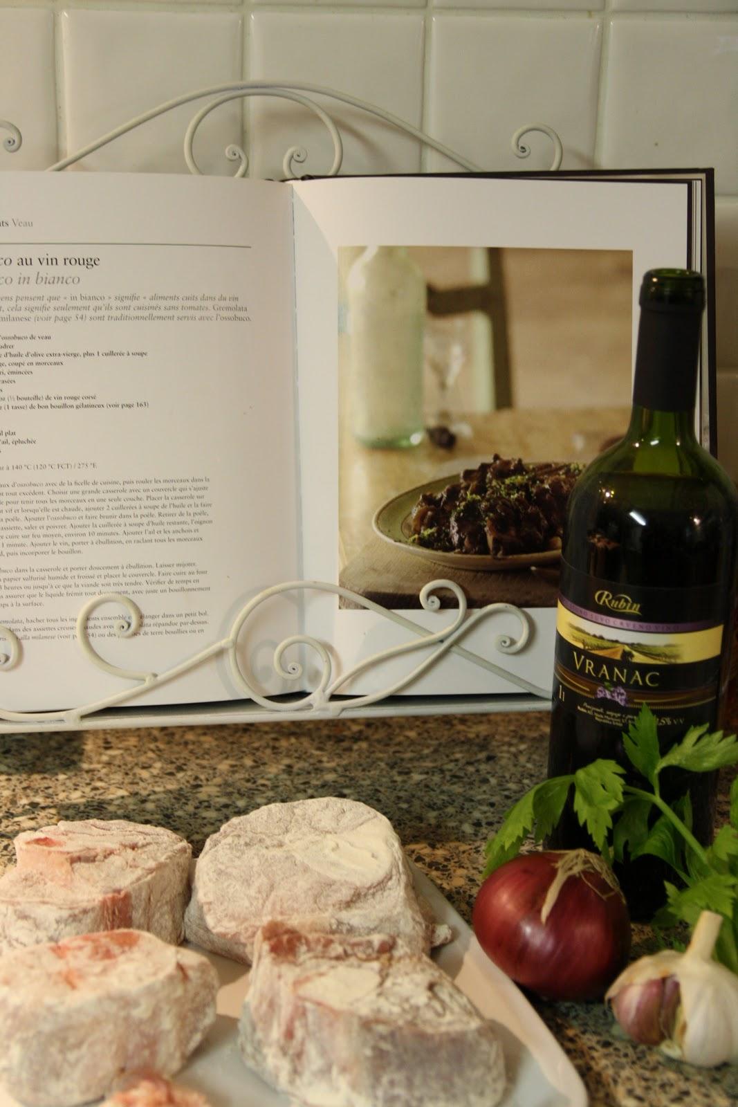 osso buco au vin rouge parmesan et paprika. Black Bedroom Furniture Sets. Home Design Ideas