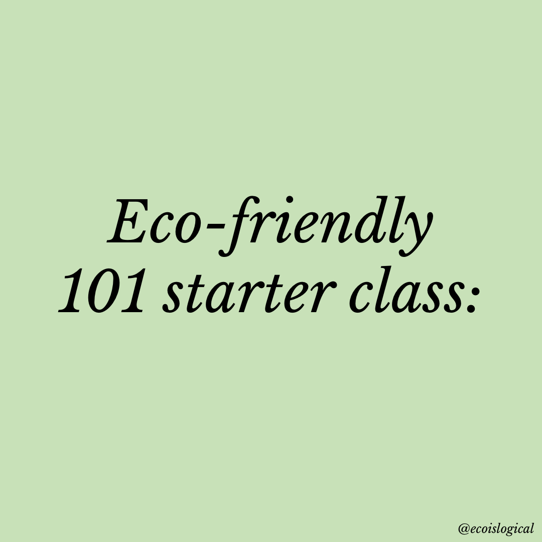Top Eco friendly tips