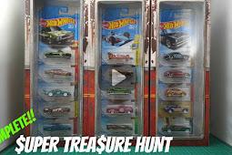 Unboxing 2018 Super Treasure Hunt Set - Hot Wheels Indonesia
