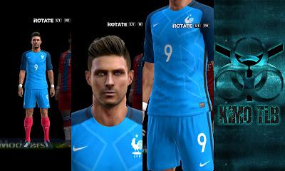 France Kit Euro 2016 By KIMO T.L.B 19