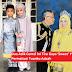 Dua Adik Comel Ini Tiru Gaya 'Sweet' YDP Agong Dan Permaisuri Tuanku Azizah