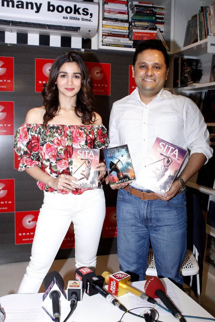 Amish and Alia Bhatt Launch the Trailer of Sita - Warrior of Mithila