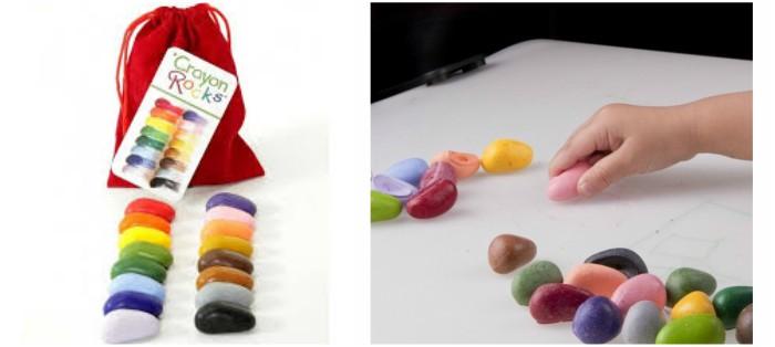 juguetes y juegos para ayudar a aprender a leer y escribir, colores crayon rocks naturales sin químicos