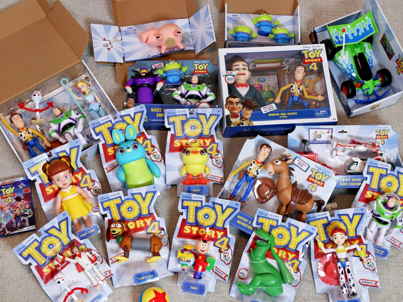 toy story 4 mattel action figure collection