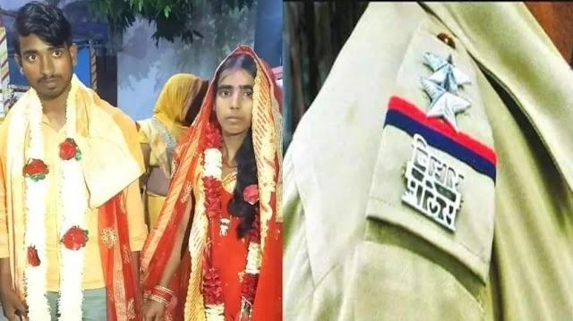 वैशाली: प्रेमिका के घर पहुंचे प्रेमी को ग्रामीणों ने पकड़ा, थाना परिसर के मंदिर में रचाई गई शादी