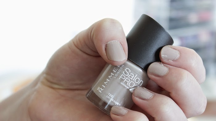 Fashion Nail Beauty Spa Elizabeth Nj: Rimmel Salon Pro Nail Varnish - Oh Mr Darcy!