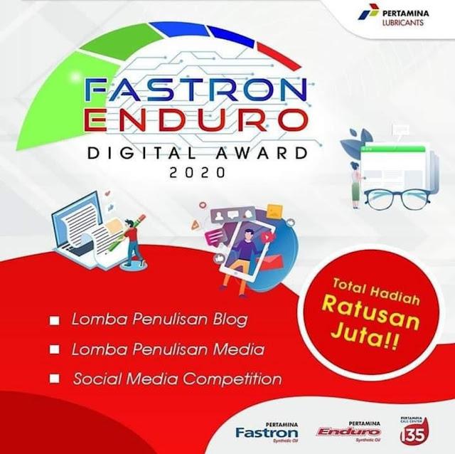 Lomba Blog Fastron Enduro 2020