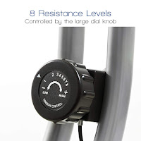 Xterra Fitness FB150 & FB350 Exercise Bike's resistance dial knob, image