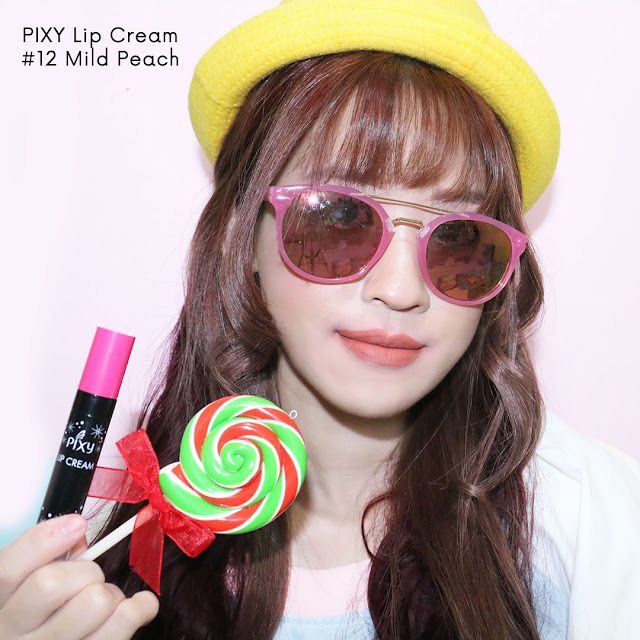 PIXY LIP CREAM MILD PEACH #12 review