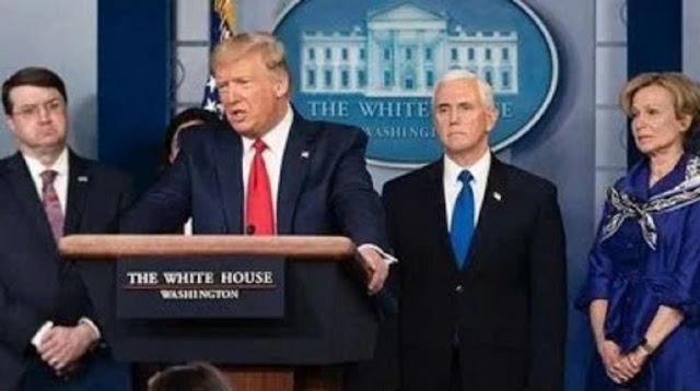 Gila, Trump Baru Saja Bohongi Dunia Soal Korban Tewas Corona di China