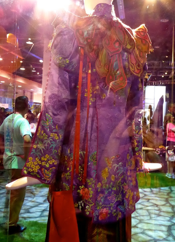 Alice Through Looking Glass Mandarin costume back