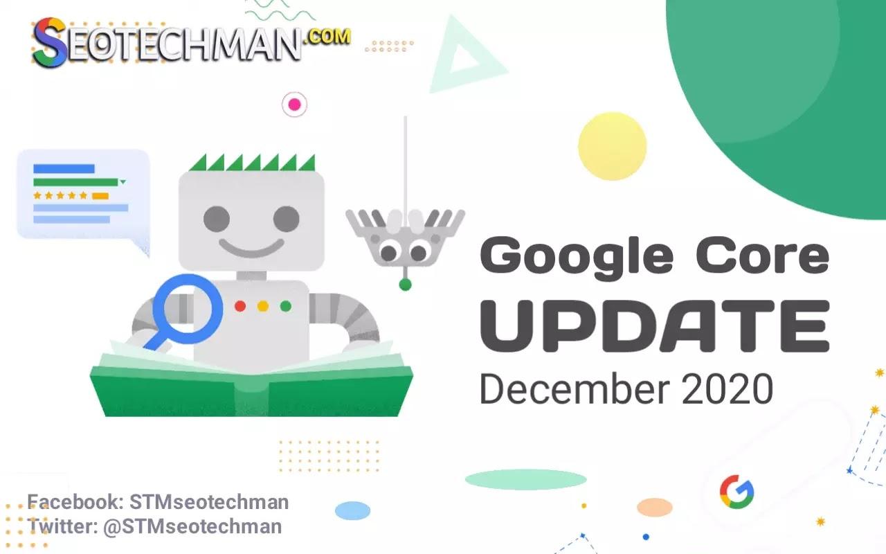 Pembaruan Algoritma Inti Google atau Google Core Update Desember 2020