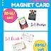 Fridge magnet card yang CANTIK sebagai hadiah!