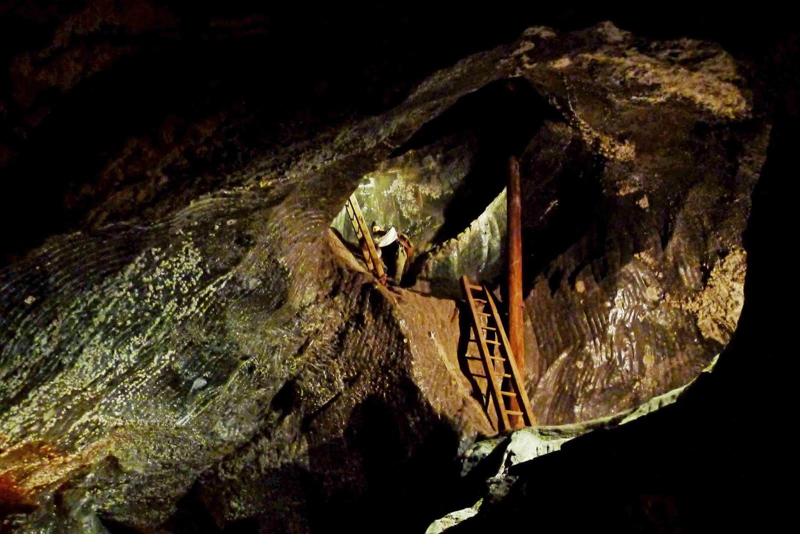 Wieliczka Salt Mine Ladders