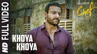 खोया खोया Khoya Khoya Lyrics In Hindi - Chef