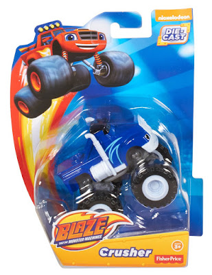 TOYS : JUGUETES  BLAZE Y LOS MONSTER MACHINES - Crusher  Mattel 2016 | Serie Televisión Nickelodeon | Fisher-Price  A partir de 3 años   Comprar en Amazon España & buy Amazon USA