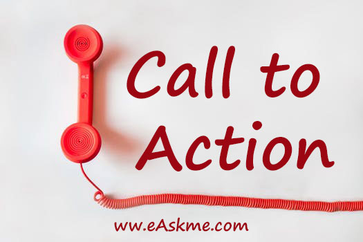 Call to Action: How to find a creative blog name: eAskme