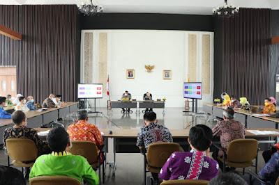 Gubernur Arinal Pimpin Rakor Bersama Dokter dan Kepala RS Rujukan Covid-19